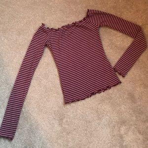 Hollister long sleeved top